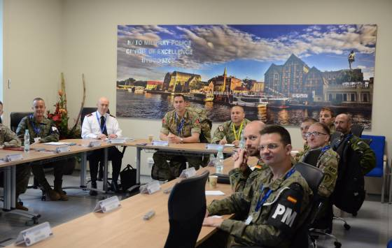 NATO Military Police Senior Officer Course 2018