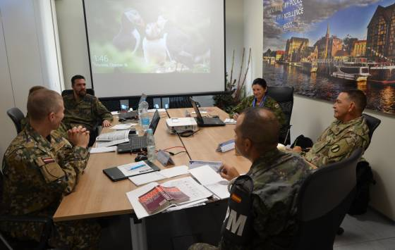 NATO Military Police Senior Non-commissioned Officer Course 2018-1