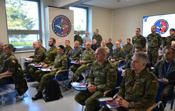 NATO Military Police Senior Non-commissioned Officer Course 2018-2