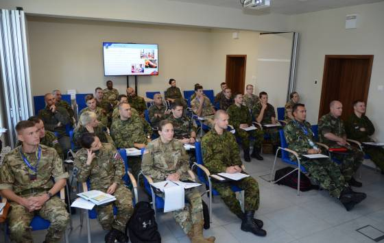 Military Police Junior Officer Course 2018