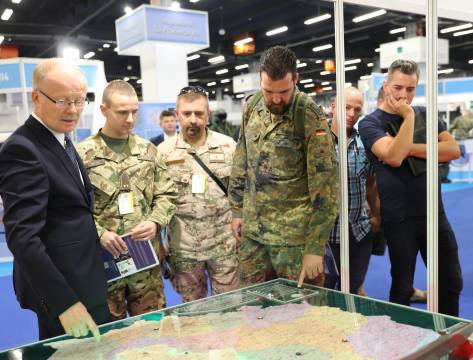 A visit paid to the 26th International Defence Industry Exhibition MSPO in Kielce
