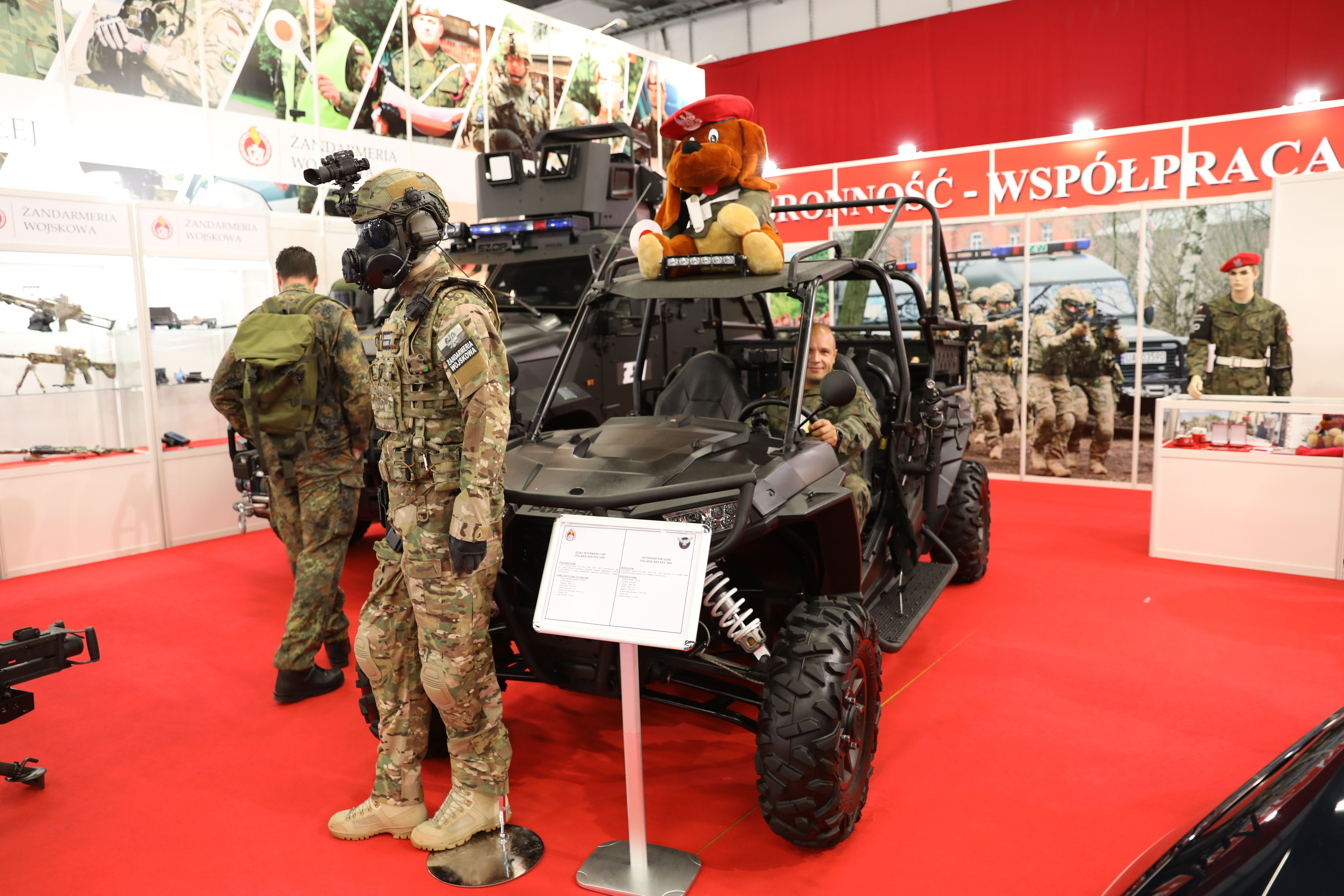 A visit paid to the 26th International Defence Industry Exhibition