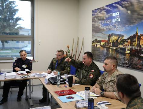 NATO Military Police Lessons Learned Staff Officer Course 2019
