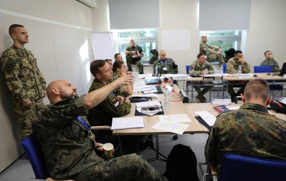 NATO Military Police Junior Officer Course 2019