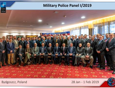 ​THE NATO MILITARY POLICE PANEL 2019-1