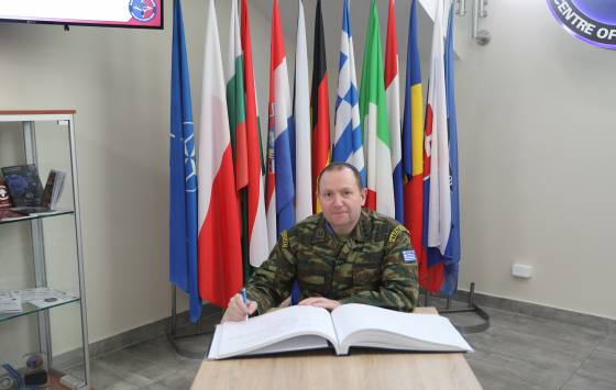 ​Visit of the Hellenic Army General Staff Military Police Service Director