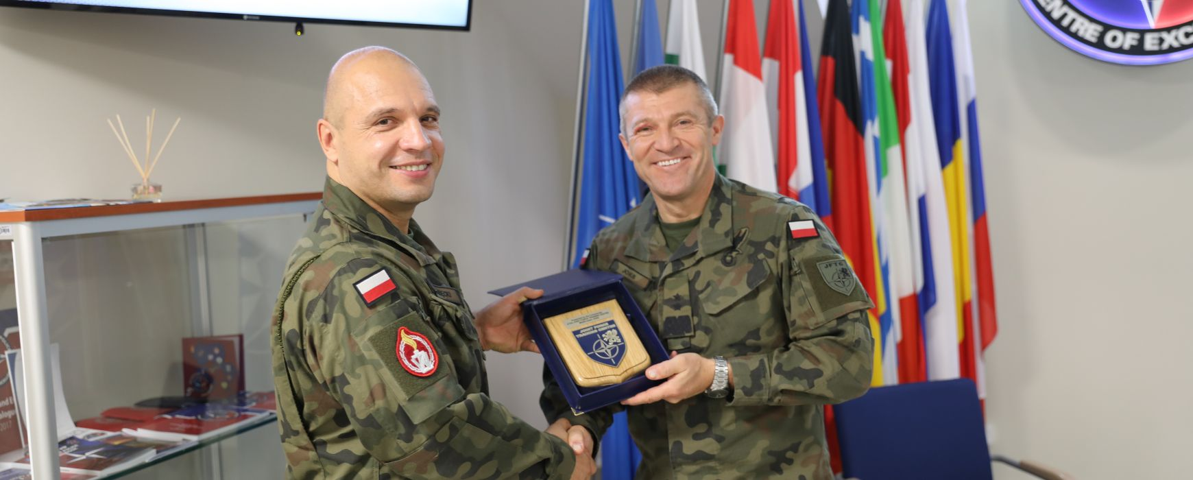 Visit of the Commander of the Joint Force Training Centre (JFTC)