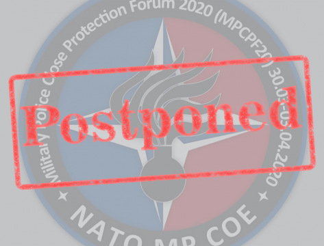 URGENT!!! ​Military Police Close Protection Forum 30 March-4 April 2020 has been postponed!!!