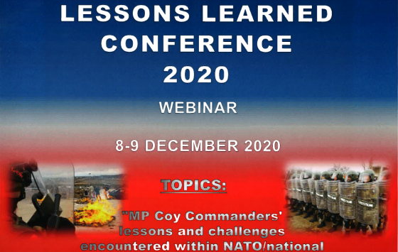 Annual MP Lessons Learned Conference (AMPLLC-20) is comming!!!