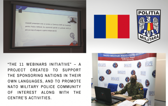 11 Webinars Initiative - Romania