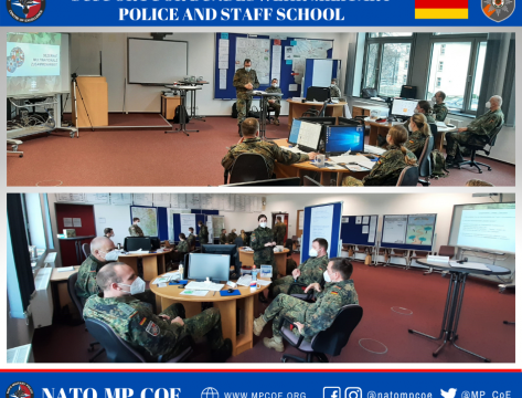 Support for Bundeswehr Military Police and Staff School