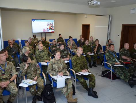 The 5th NATO Military Police Junior Officer Course (MPJOC17) 25-29 October 2017