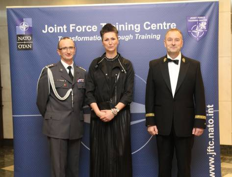The annual charity ball organised by Joint Force Training Centre (2016)