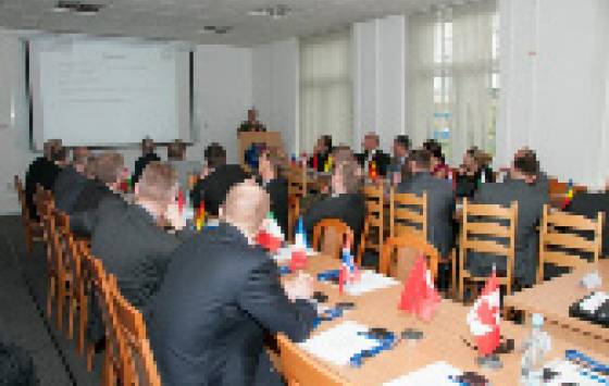 The NATO Military Police Panel visit to the Military Police Centre of Excellence