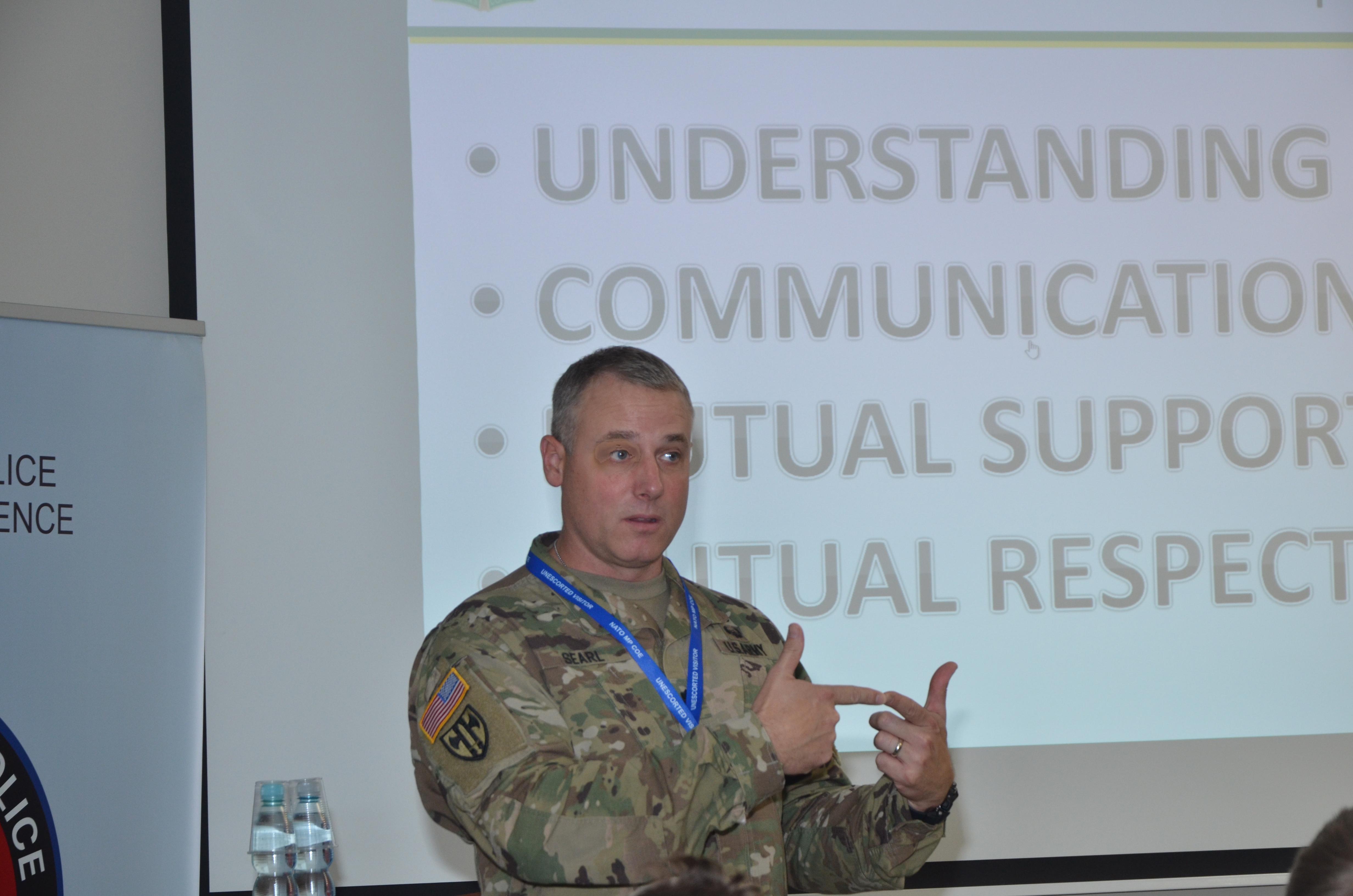 3rd NATO Military Police Senior NCO Course 17 – 21 October