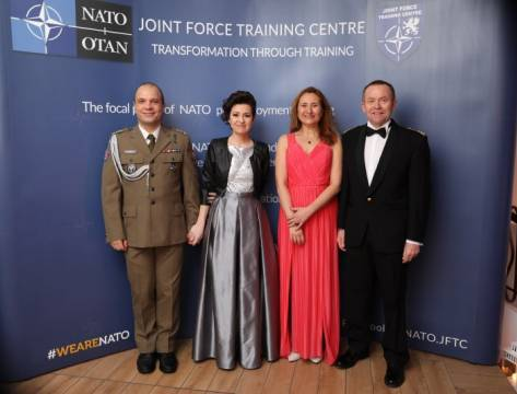 The annual NATO Charity Ball