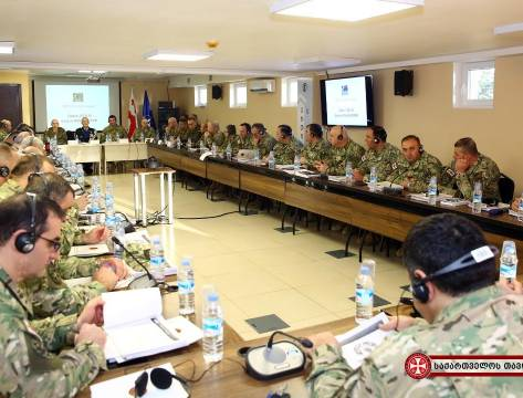 ​The NATO Military Police Centre of Excellence's support to the Military Police Leadership Orientation Course in Tbilisi, Georgia