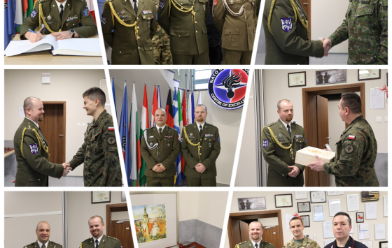 Farewell Ceremony of the Doctrine and Standardization Branch Head, LTC Roman GAVLAS