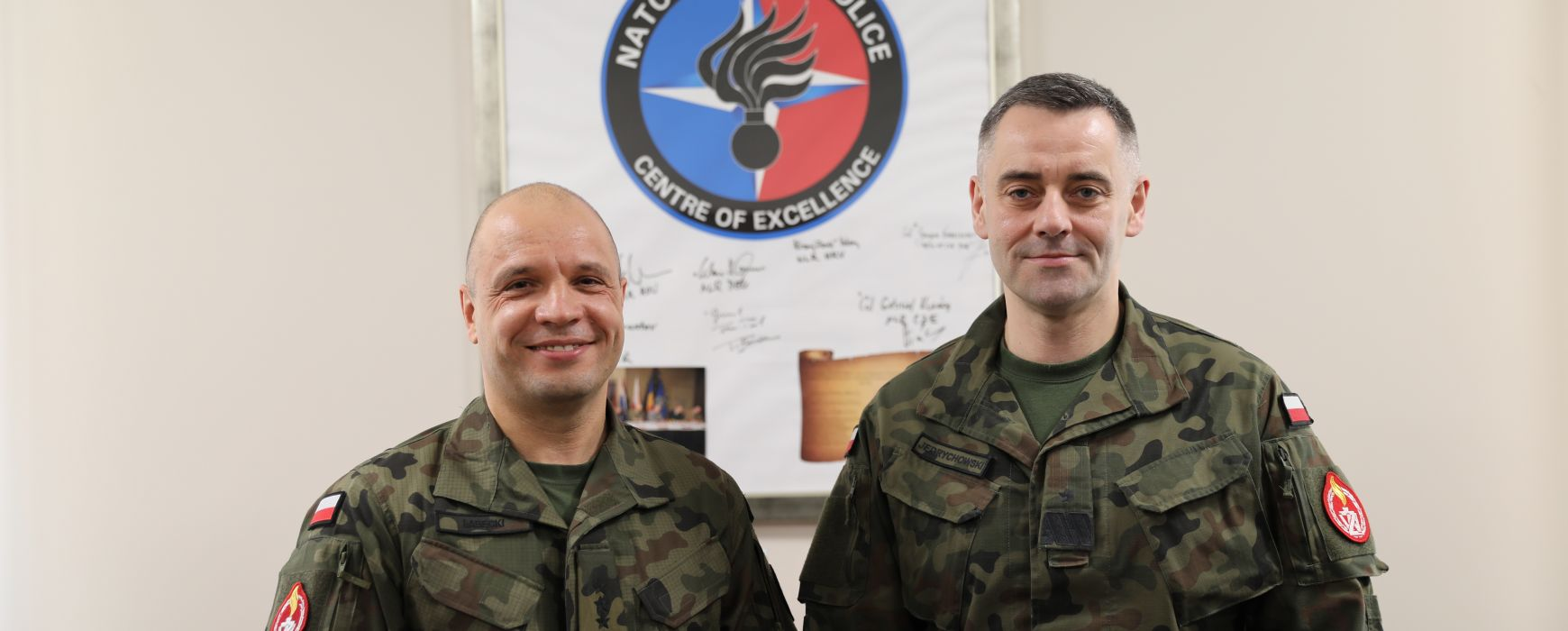 Visit of the Polish Military Gendarmerie Key Leaders to the NATO MP COE on the 27th FEB 2020