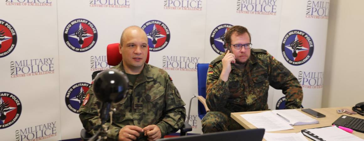The NATO MP COE current and future E-Learning projects for the Military Police Community of Interest (MP COI) webinar